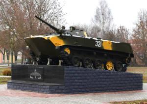 Памятный знак воинам-интернационалистам в г. Мосты открыт в 2015 г.