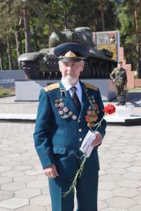 Участник войны полковник в отставке Николай Васильевич Киселев