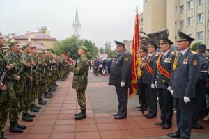 Новое пополнение принимает Военную присягу (4)