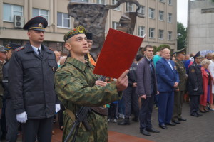 Новое пополнение принимает Военную присягу (5)