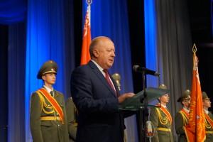 Со знаменательной датой воинский коллектив поздравляет зам председателя Гродненского облисполкома Виктор Лискович