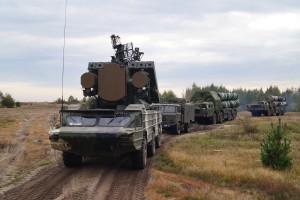 Боевая техника в ходе выдвижения на запасную позицию (2)