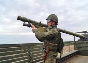 Стрелок-зенитчик рядовой Артем Родиюк к бою готов (1)