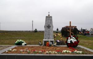 Братская могила воинов Первой мировой войны на кладбище агрогородка Заречанка