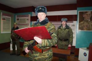 Военнообязанные, призванные из запаса, принирмают Военную присягу (2)