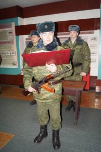 Военнообязанные, призванные из запаса, принирмают Военную присягу (6)