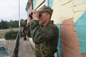 Наблюдатели на вышке танковой директрисы