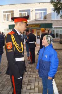 Четвероклассник Виталик Кетрик, как и его старший брат Кирилл, мечтает стать кадетом