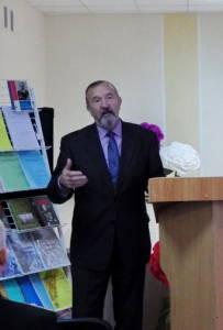 Конференцию открывает профессор Гродненского госуниверситета им.Янки Купалы Валерий Черепица