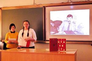 Учащиеся рассказывают о героях малой родины