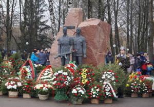 Мемориал воинам-интернационалистам в Гродно 15 февраля