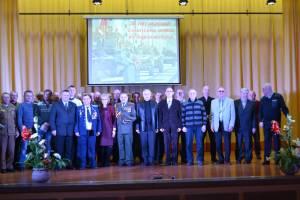 Награждение ветеранов в СШ 38 города Гродно